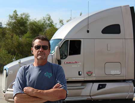 Ralf Jones recently purchased his second truck from ONE Leasing. He is an independent contractor with TransAm Trucking