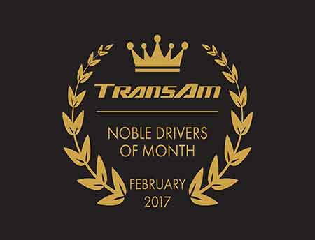 February Drivers of the Month