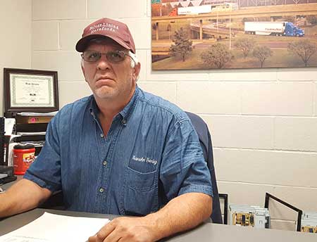 Rick Silvers, TransAm Trucking's Part Manager