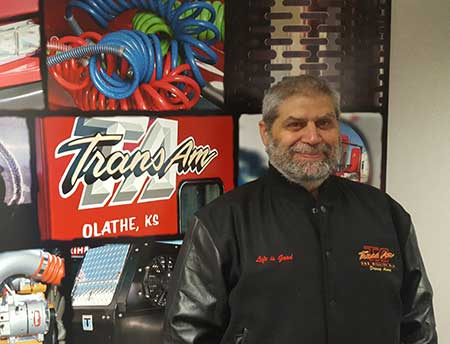 Congratulations to Bruce Bento on his Million Mile Achievement with TransAm Trucking!