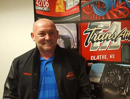 Congratulations, David O'Conner, on your Million Mile Achievement with TransAm Trucking!