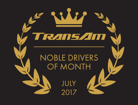 Congratulations to the TransAm Trucking Drivers of the Month for July!