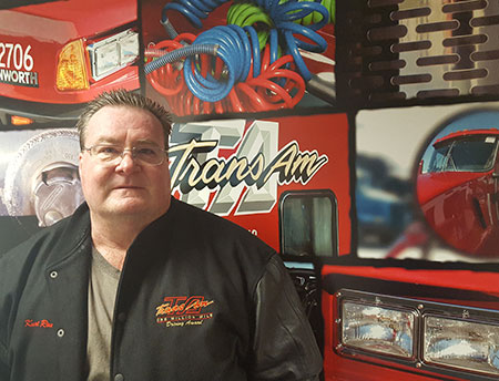 Kurt Roderick is celebrating is 1st million miles with TransAm Trucking.