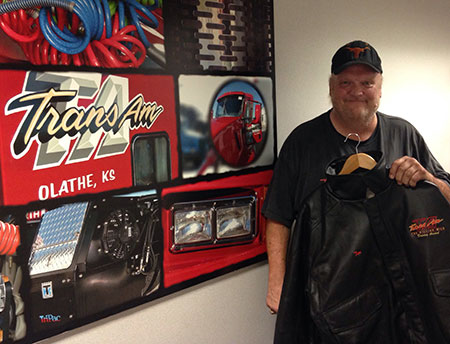 Tim Antle recently celebrated his 2 million mile achievement with TransAm Trucking.