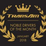Drivers of the Month – January 2018