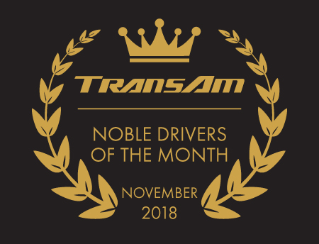 Drivers of the Month – November 2018