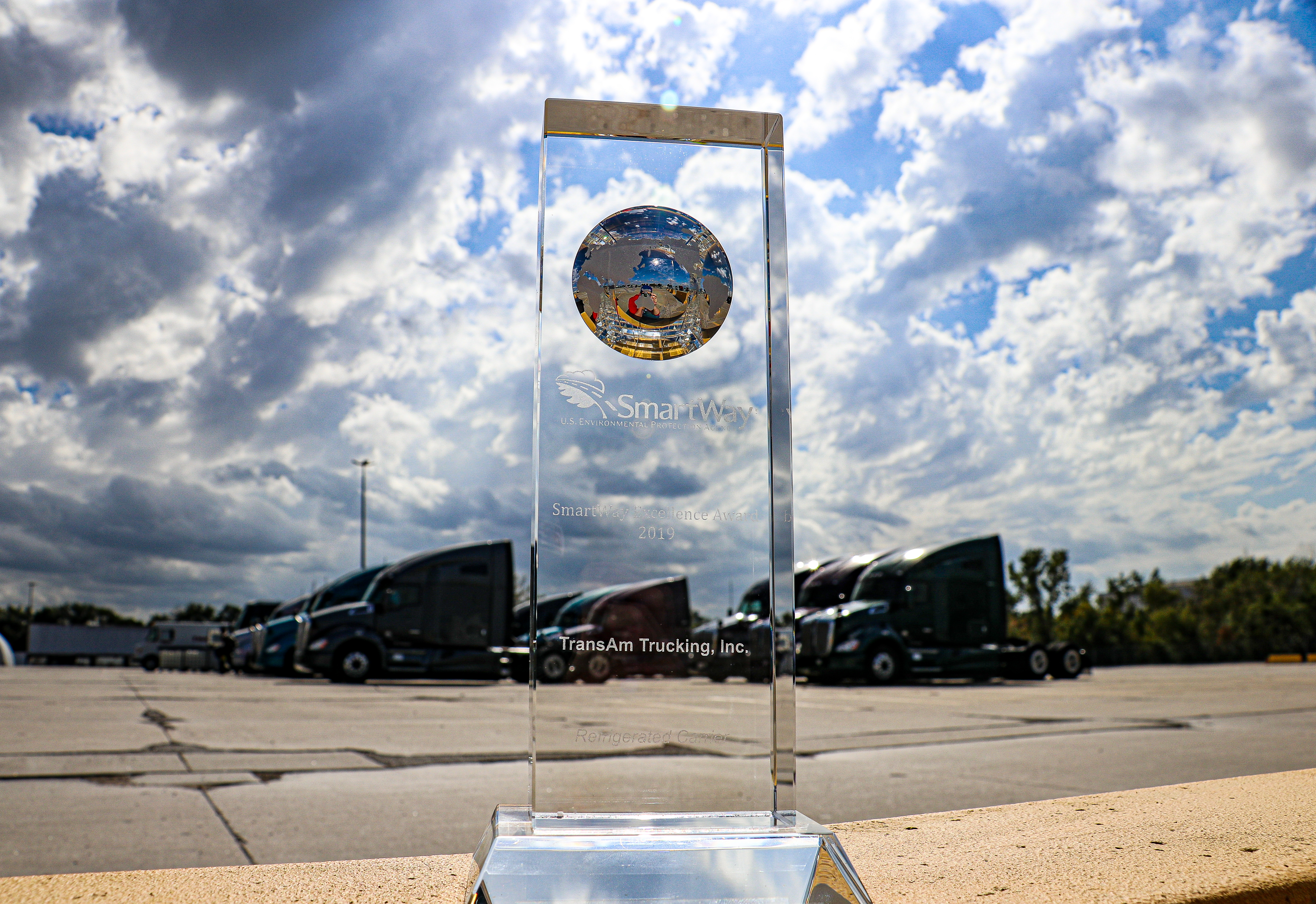 TransAm Receives US EPA 2019 SmartWay Excellence Award